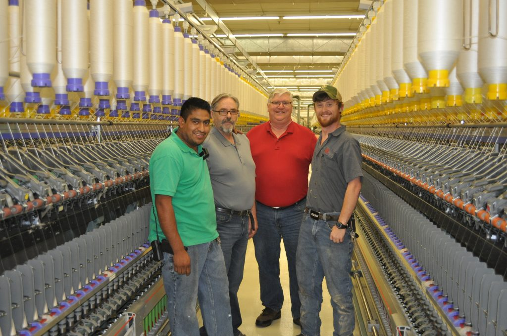 Problem Solving Team at Buhler Quality Yarns.