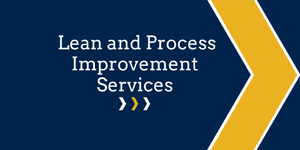 Lean and Process Improvement Services Button