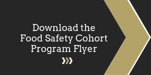 Download the Food Safety Cohort Program Flyer Button