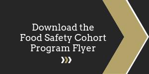 Download the Food Safety Cohort Program Flyer Button