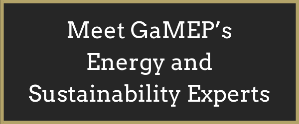 Energy and Sustainability Experts Button