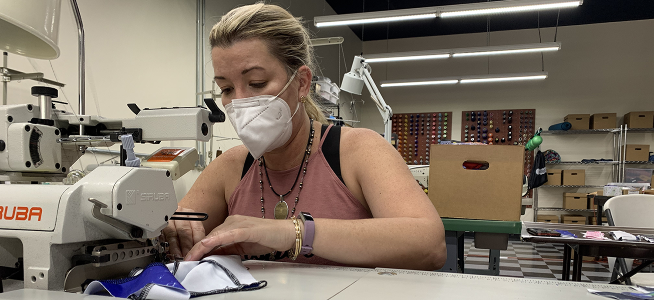 T31 Produces Face Masks During COVID-19