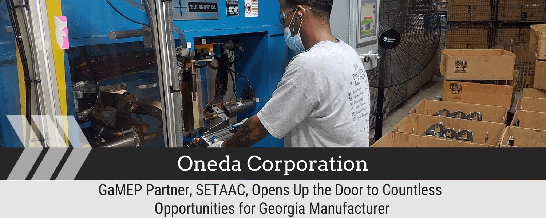 GaMEP Partner, SETAAC, Opens Up the Door to Countless Opportunities for Georgia Manufacturer
