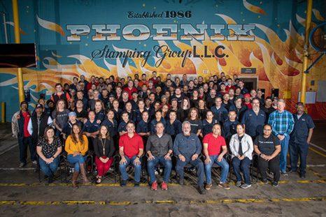 Phoenix Stamping Success Story